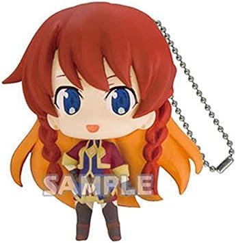 Re:Creators Selesia Character Capsule Mascot Swing Key Chain Anime Collection