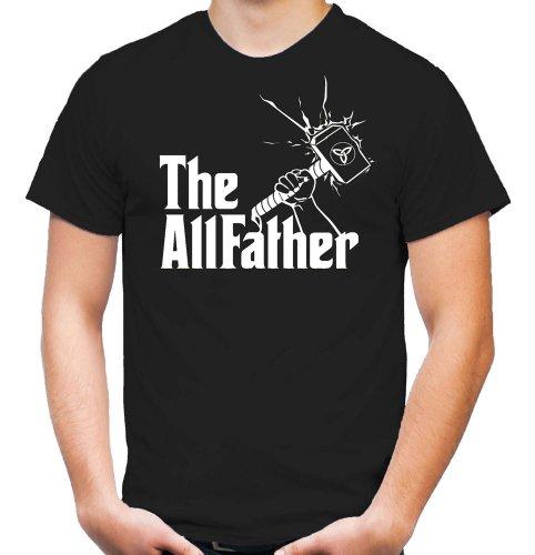 The Allfather T-Shirt | Thor | Mjölnir | Wikinger | Thors Hammer | Godfather