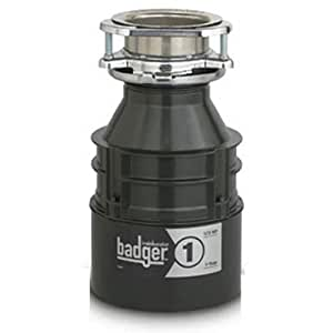 Insinkerator Badger 1 Garbage Disposal 1/3HP