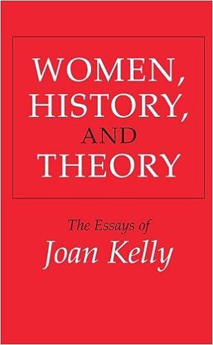 amazon com  women  history  and theory  the essays of joan kelly    amazon com  women  history  and theory  the essays of joan kelly  women in culture and society         joan kelly  books
