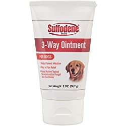 Sulfodene 3-way Ointment Pain Relief Skin Conditions Itching for Dogs