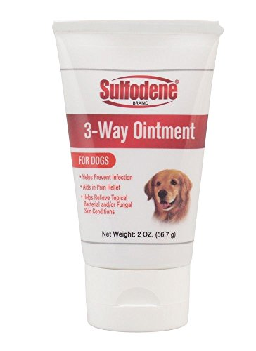 (Sulfodene 3-way Ointment Pain Relief Skin Conditions Itching for Dogs)
