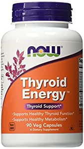 NOW Thyroid Energy,90 Veg Capsules
