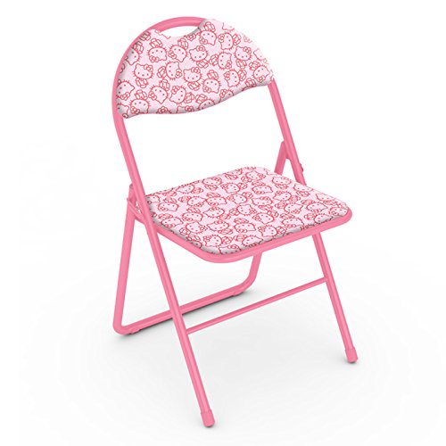 dar Living Hello Kitty Classic Folding Chair Walk Collage Import It All