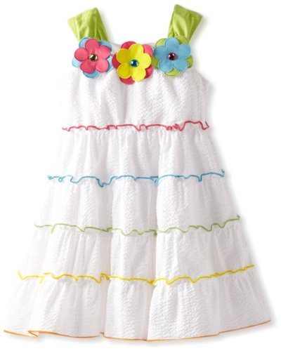 Rare Editions Girls Seersucker Dress 2T