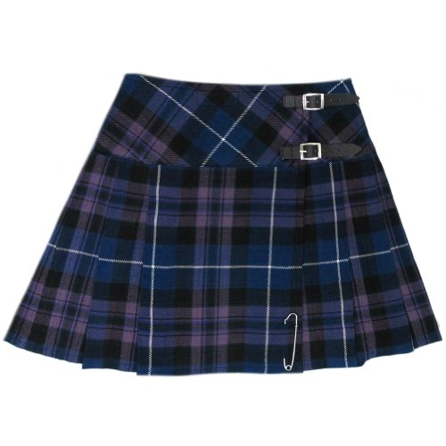 (Tartanista Womens 16.5 Inch Scottish Tartan Mini Kilt Skirt Honour of Scotland 14 US)