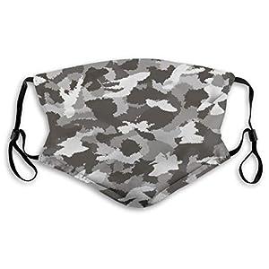 Adult Face Cover Reusable Face Shield Dust Mask for Women & Men