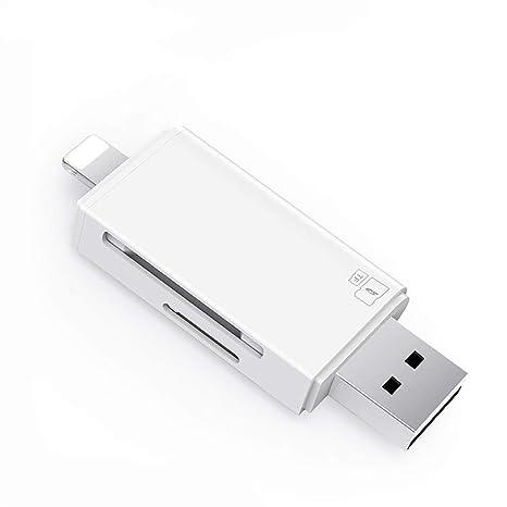 Lector de Tarjeta portátil USB 3.0 Ranura para Tarjeta Dual ...