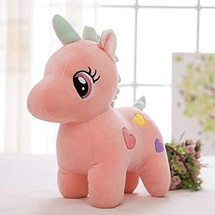 Urban Hub Super Soft Plush Unicorn Toy Soft Stuffed for Kids 25 cm (Multi-Color,Assorted)