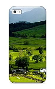 New Shockproof Protection Case Cover For Iphone 5c/ Earth Landscape Case Cover