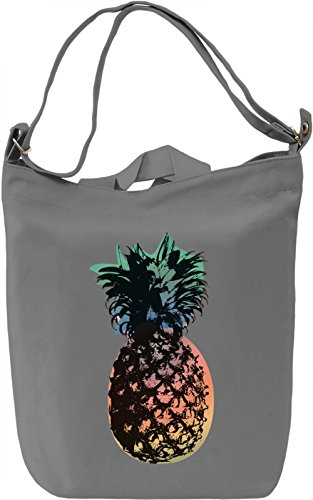 Pop Art Pineapple Borsa Giornaliera Canvas Canvas Day Bag| 100% Premium Cotton Canvas| DTG Printing|