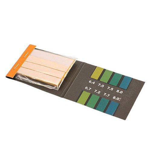 Vipeco 80 Alkaline Paper Test Strips PH Range 6.4-8.0 Indicator Test Papers Kit
