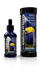 Brightwell Aquatics 2 fl. oz. Garlic Power Concentrated Garlic Supplement for Marine Fishes, 60 mL