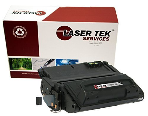 Laser Tek Services Compatible Toner Cartridge Replacement for HP Q1338A ( Black , 1-Pack )