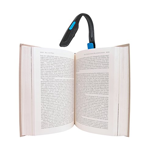 Energizer Lightweight LED Clip Book Light for Reading, Includes 2 CR2032 Batteries