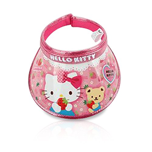 Book Character Costumes For 10 Year Olds (Finex - Random - Hello Kitty Cartoon Character Sun Visor Hat for UV Protection for kids boys and girls beach swimming pool golf course backyard)