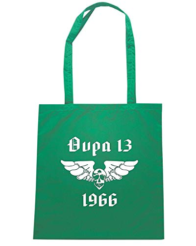 OLDENG00852 Shopper Borsa Shirtshock Verde T PANATHINAIKOS qwI6P7WE
