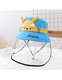toataLOpen Protective Mouth Visor Face Cover Kids Children Cotton Cartoon Adjustable 5 Layers Anti Dustproof Mouth Little Dinosaur