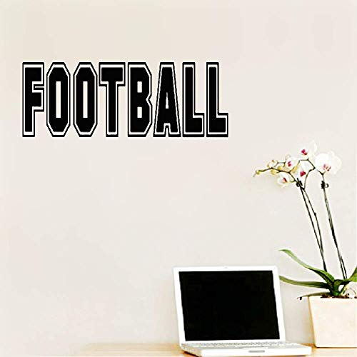 cal Sticker Wall Art Football Graphic for Boys Room Living Room Bedroom Hose Home Decoration Gift Idea 28.6