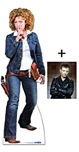 Amazon.com FAN PACK - PROFESSOR RIVER SONG COWGIRL OUTFIT (ALEX KINGSTON) - BBC DOCTOR WHO / DR ...