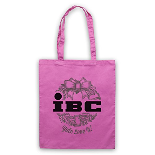 Scrooged IBC Yule Love It Bolso Rosa