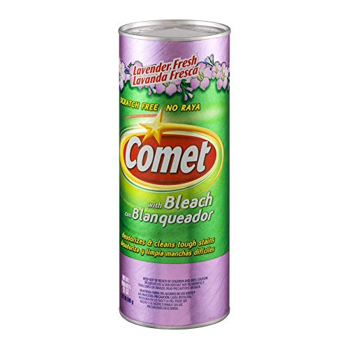 Comet Lavender Fresh with Bleach 21 Oz, 2 Ea by Comet