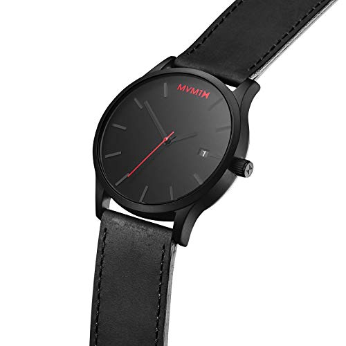 MVMT Men's Minimalist Vintage Watch with Analog Date 2