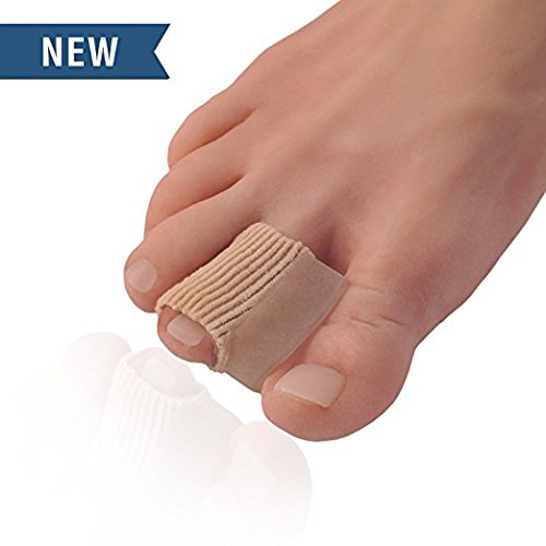 Dr. Frederick's Original 2 Piece Fabric Toe Separators - Bunion Relief Toe Spacer Set - 1 Pair Fabrigrip Toe Protectors - for Men & Women Frederick Medical Supply