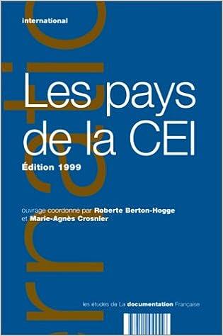 Pays de la CEI, édition 1999 epub pdf