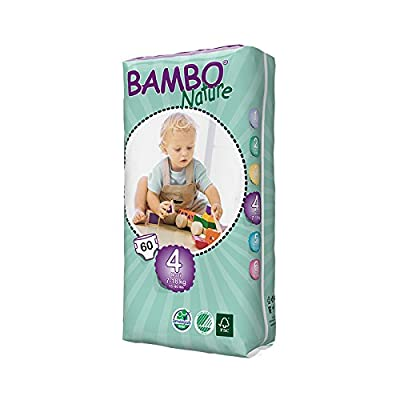 Beaming Baby Bambo Maxi Nappies Size 4 60's