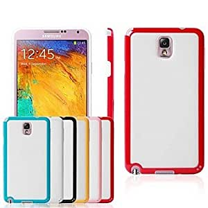 Buy TPU Dual Color Hard Case Hit Contrast Color Back Cases for Galaxy Note3 Note III N9000 , Blue