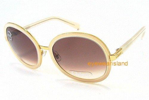 Amazon.com: Chloe CL 2147 cl2147 crema oro C03 anteojos de ...