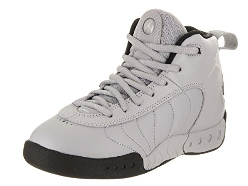 Jordan Jumpman Pro BP Little Kids Shoes Wolf Grey/White/Black 909419-004 (1.5 M US) (Shoes Jordans Kids)