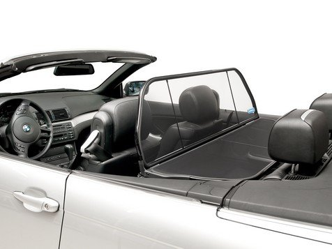 BMW Windstop for 3 Series (E46) 2000 Thru 2006, Love The Drive Wind Deflector, Wind Screen, Windstop, Wind Blocker, stopper