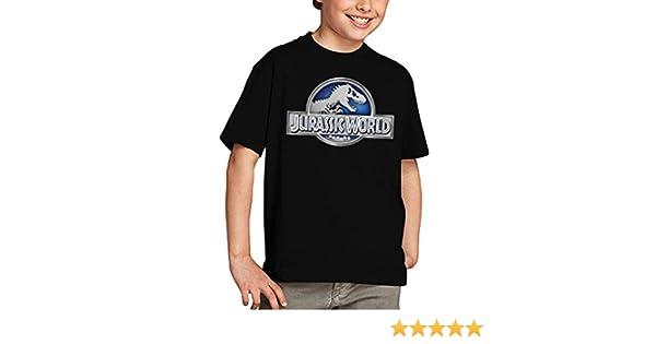 Mx Games Camiseta Jurassic World niños Logo Classic (Todas Las Tallas): Amazon.es: Deportes y aire libre