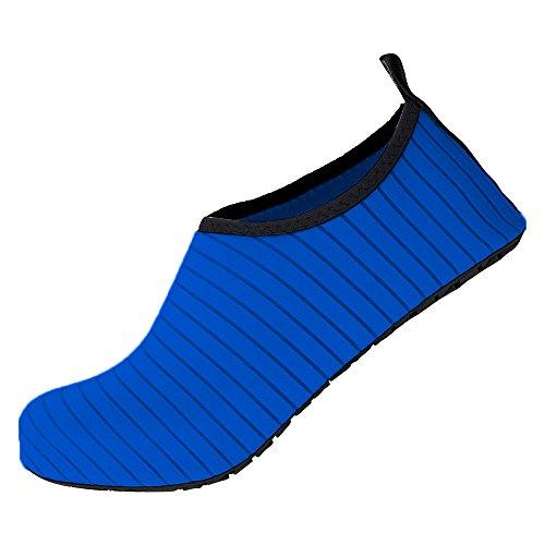 WULFUL Womens Mens Water Shoes Barefoot Quick-Dry Aqua Socks Beach Swim Shoes for Yoga Surf Exercise