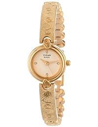 Titan Women's 2247YM20 Raga Inspired Gold Tone Watch