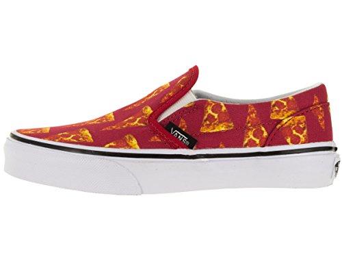Vans Classic - Slip-On Unisex Niños Mars Red/Pizza