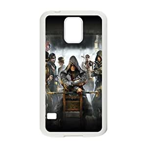 assasins creed game Samsung Galaxy S5 Cell Phone Case White toy pxf005_5741430