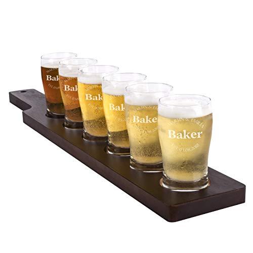 - Personalized Family Beer Tasting Glasses Gift For Couples Families Custom Beer Tasting Flight