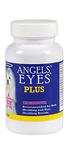 ANGELS EYES PLUS Tear Stain Remover Powder Angel Eyes Chicken Flavor 1.59 oz. (45g)- MADE IN USA