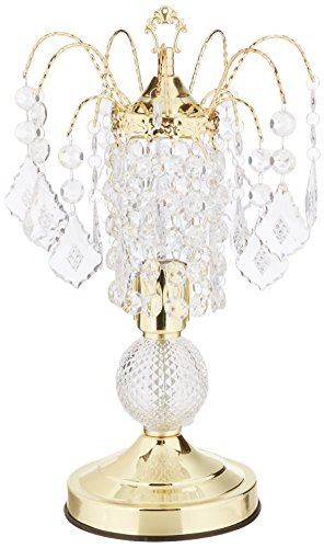 ORE International 3056 Glass Touch Accent Lamp, Gold ()