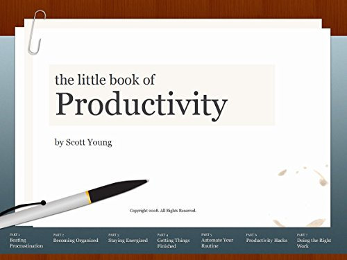 Amazon the little book of productivity ninety nine ideas to the little book of productivity ninety nine ideas to help you get more work fandeluxe Choice Image