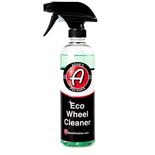 Adam's NEW Eco Wheel Cleaner 16oz - Safely Clean Any Wheel Finish - Tough on Dirt and Brake Dust But Gentle on Your Wheels and The Environment Any Brake