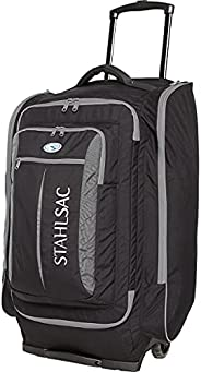 Stahlsac 10 lbs Caicos Cargo Travel Roller Bag -Black/Grey