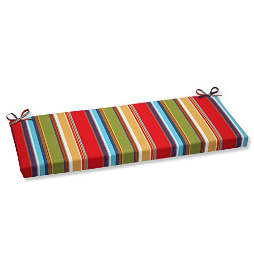 Pillow Perfect Outdoor Westport Garden Bench Cushion, Multicolored (X Outdoor 16 Bench Cushion 45)