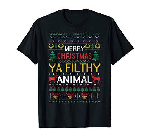 Filthy Animal Ya Merry Christmas Ugly Sweater -