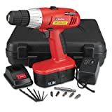 GNS80167 – Great Neck 18 Volt 2 Speed Cordless Drill For Sale