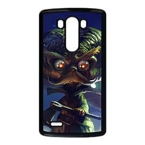 LG G3 Cell Phone Case Black League of Legends Alien Invader Heimerdinger TJ2814253