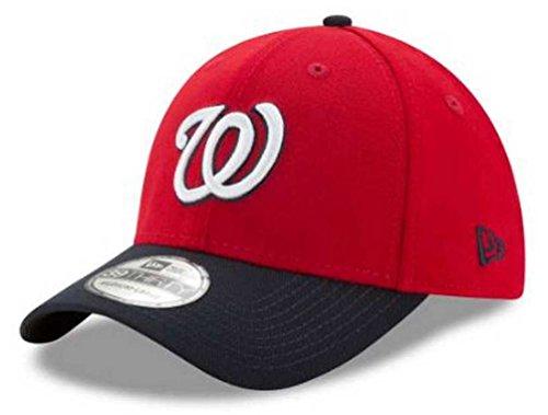 MLB Washington Nationals Team Classic Alternative 2 39Thirty Stretch Fit Cap, Red, Small/Medium